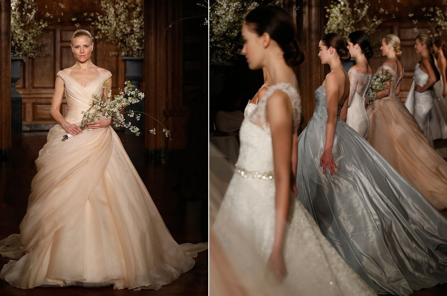 Wedding Dresses With Color Summertime Weddings 21 Chic Looks For Bridesmaids