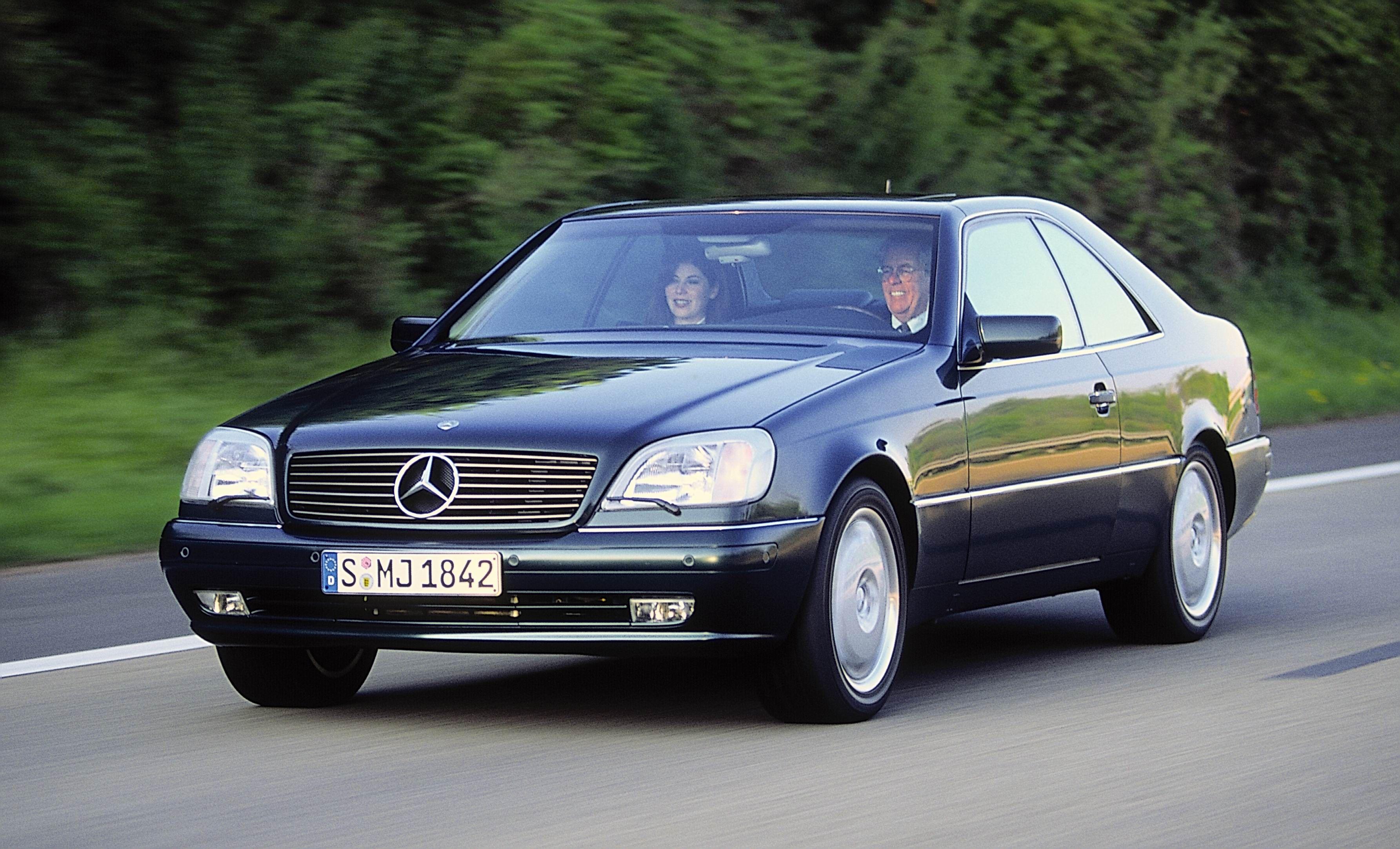 Mercedes-Benz C140 S-class coupe.