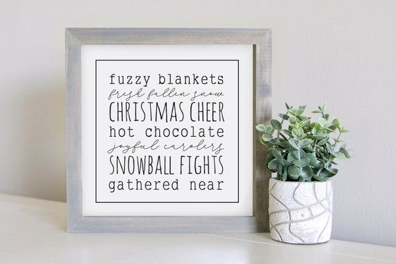 Photo of Medium Size  Sign Insert: Winter Vibes   Magnetic Sign INSERT ONLY