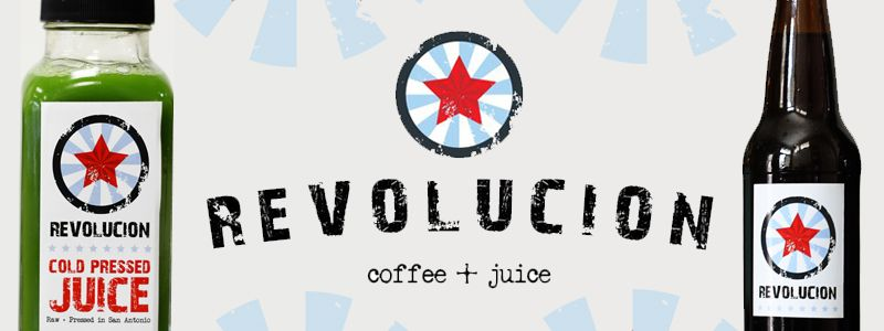 Revolucion coffeejuice now available at fare