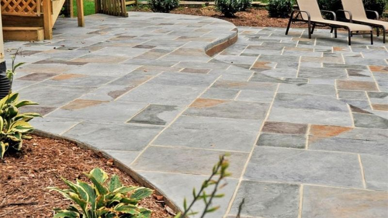 24 Amazing Stamped Concrete Patio Design Ideas - Remodeling ...