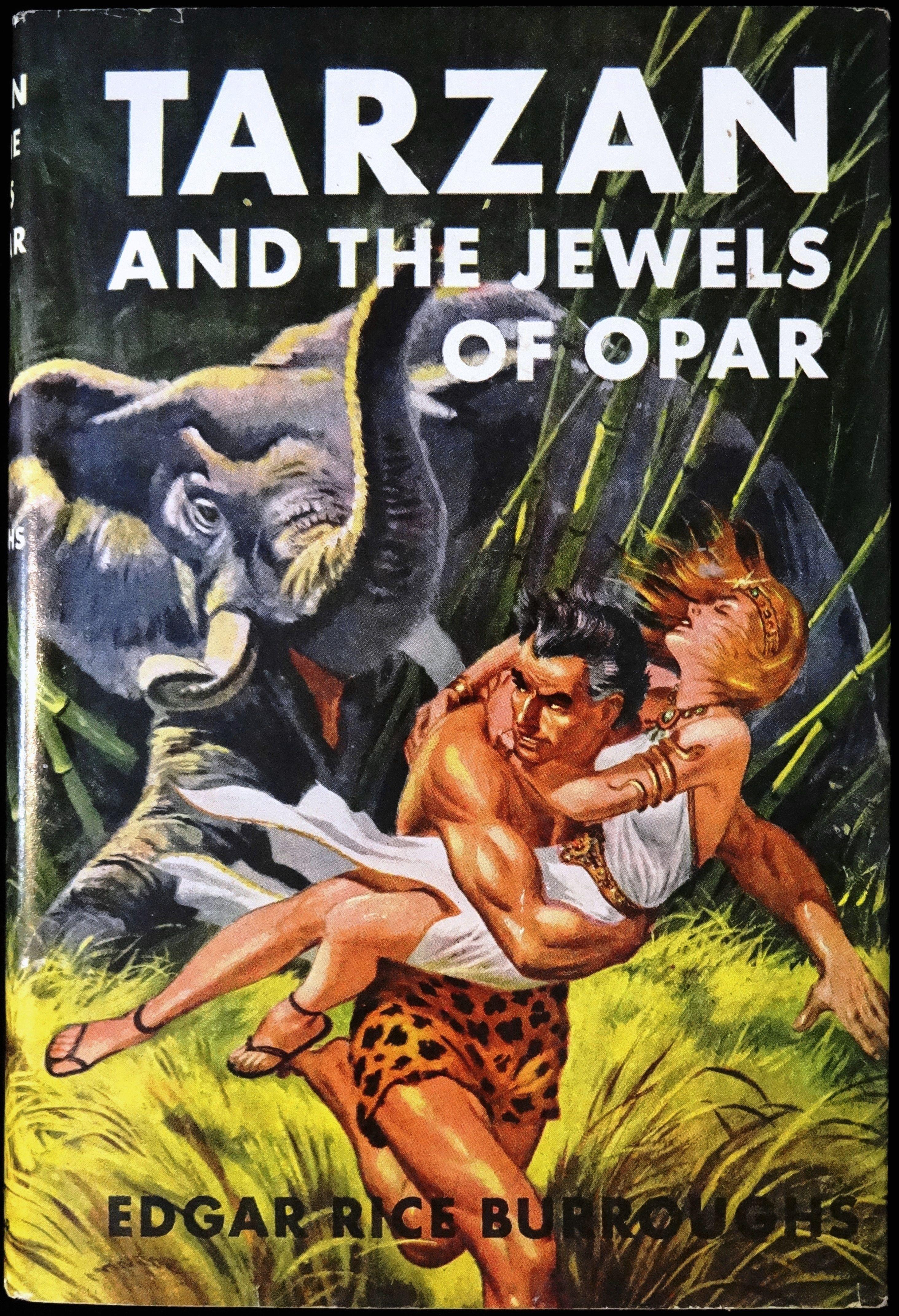 Edgar Rice Burroughs Edgar Rice Burroughs Tarzan Book Tarzan