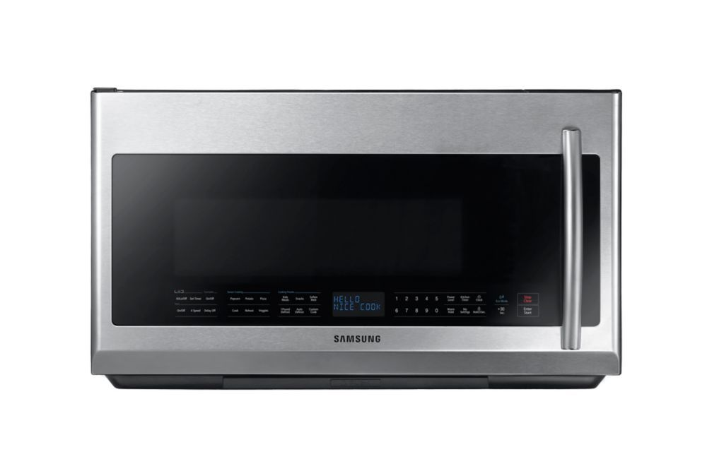 Over The Range Microwave Hood Fan Combo In Stainless Steel