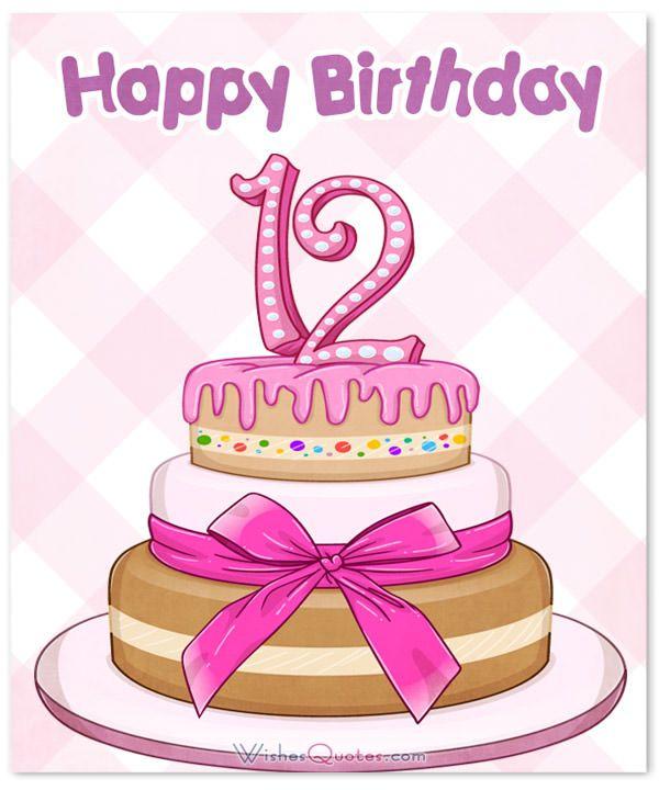 12th Birthday Wishes