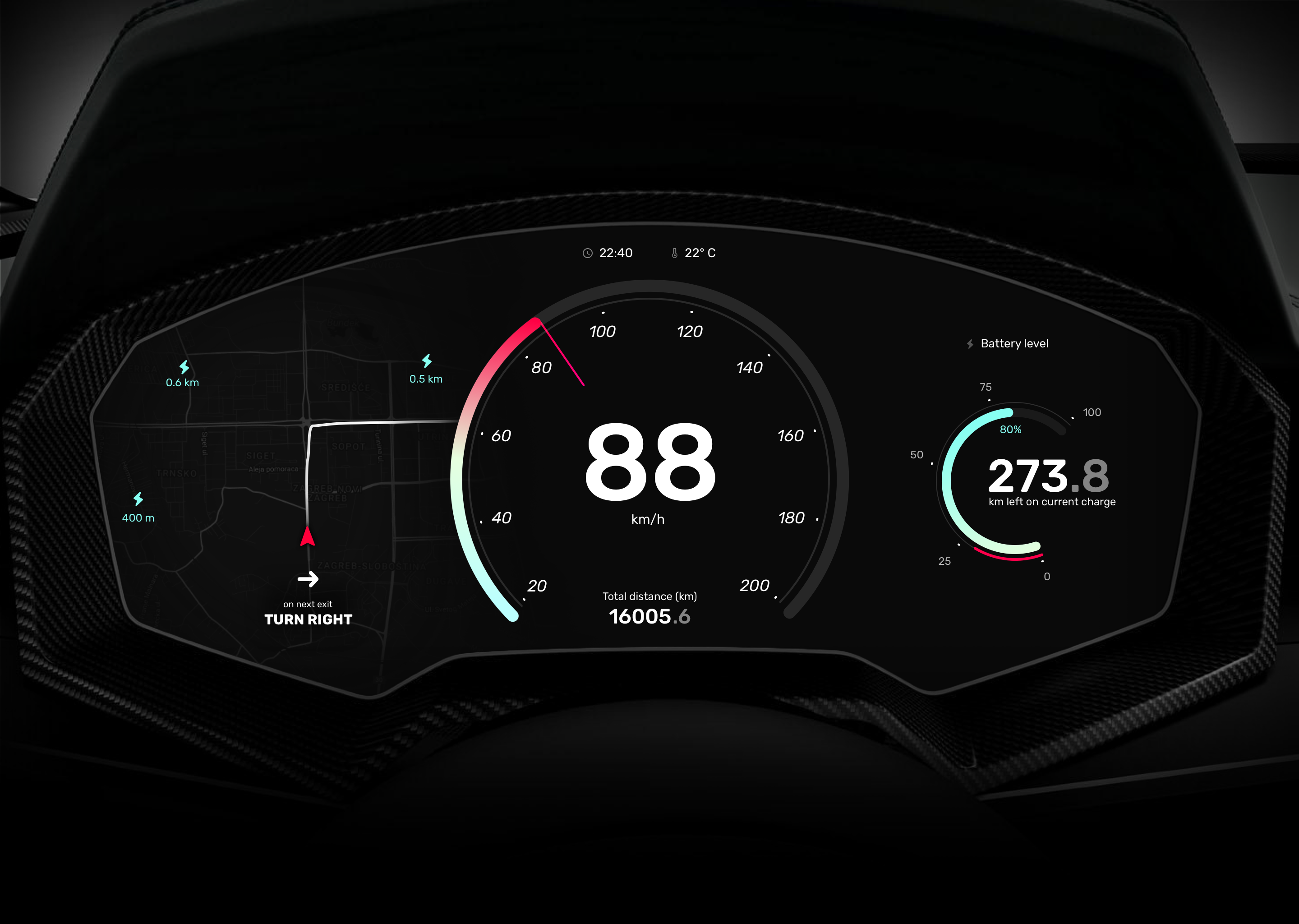 Weekly ui challenge s02 electric card dashboard concept attachment
