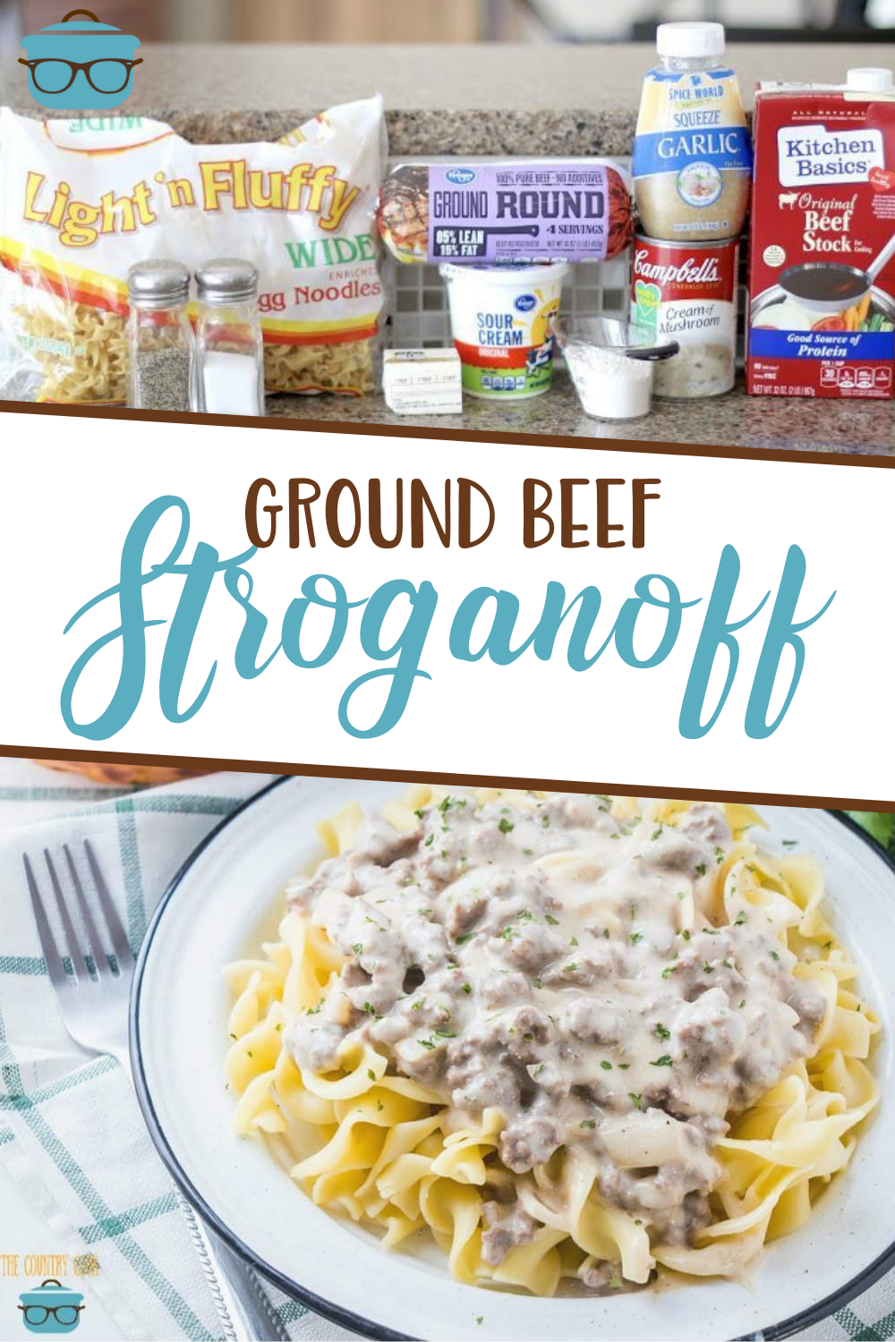 GROUND BEEF STROGANOFF (+Video)