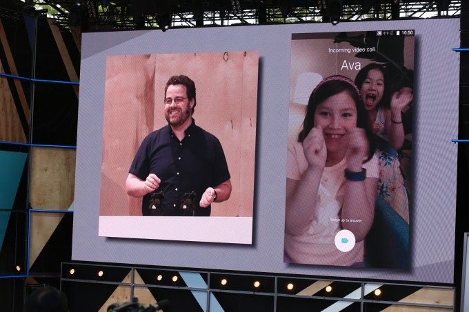 Google shows off Duo, its new HD video calling app and answer to Apple's FaceTime -  Some have criticised Google for falling behind when it comes to social networking and new communications services, but the company is how working hard to catch up. Today, the company announced a new video calling app called Duo — a high-definition app for Android and iOS devices. Duo ... http://tvseriesfullepisodes.com/index.php/2016/05/18/google-shows-off-duo-its-new-hd-video-c