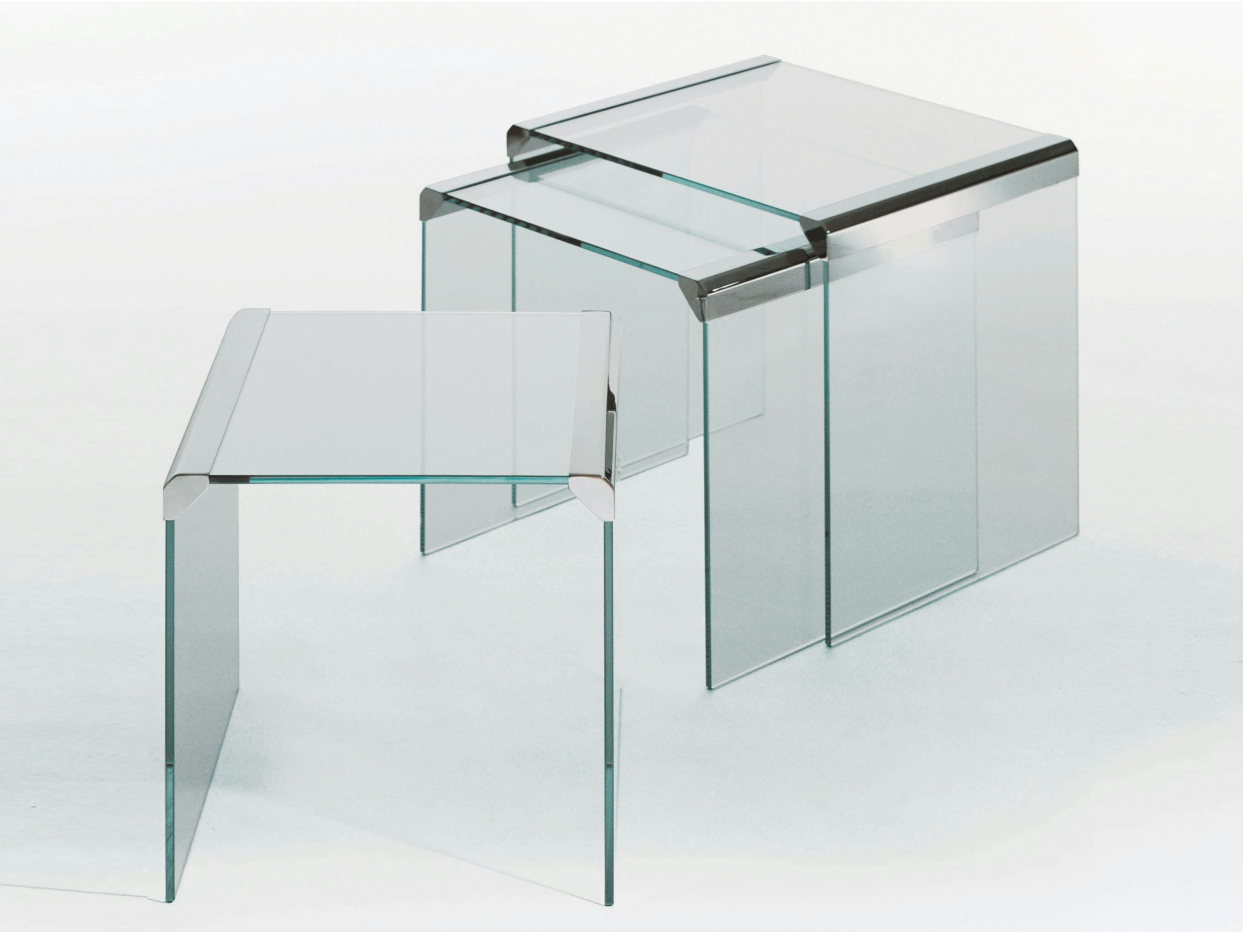 Stackable Crystal Coffee Table T 35 Trio By Gallotti Coffee Table Square Glass Coffee Table Table [ 1920 x 2560 Pixel ]