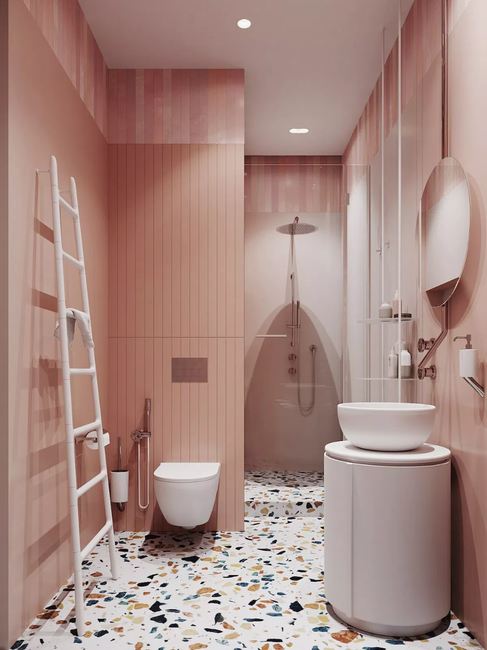 30+ Deco salle de bain rose inspirations