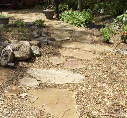 Which Mulch Do I Use In The Landscape Garden Wood Chips Landscaping Outdoor Backyard Backyard Garden