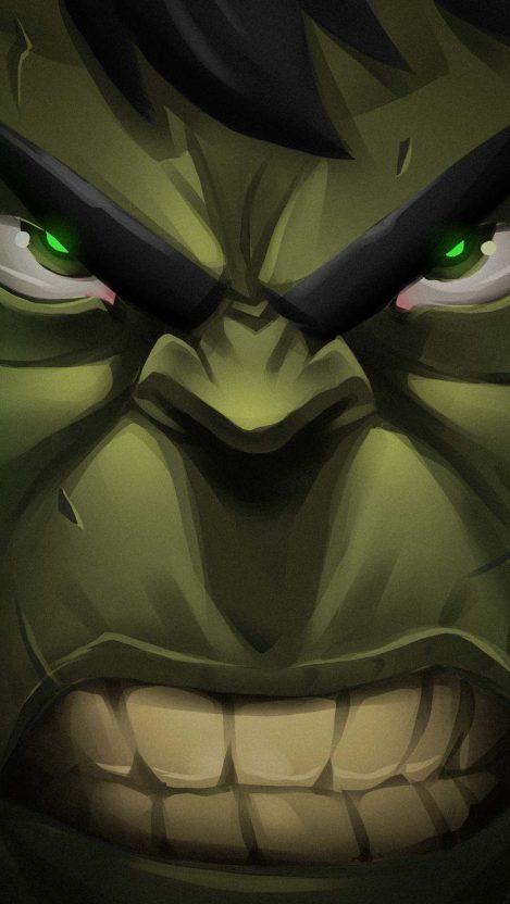 Hulk Face iPhone Wallpaper Free GetintoPik in 2020