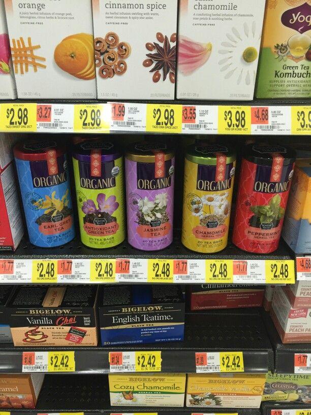 New Awesome Organic Teas @Walmart by Signature Teas ...