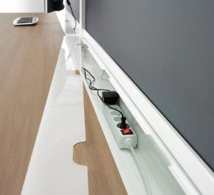 Gentil Desk Cable Management   Google Search