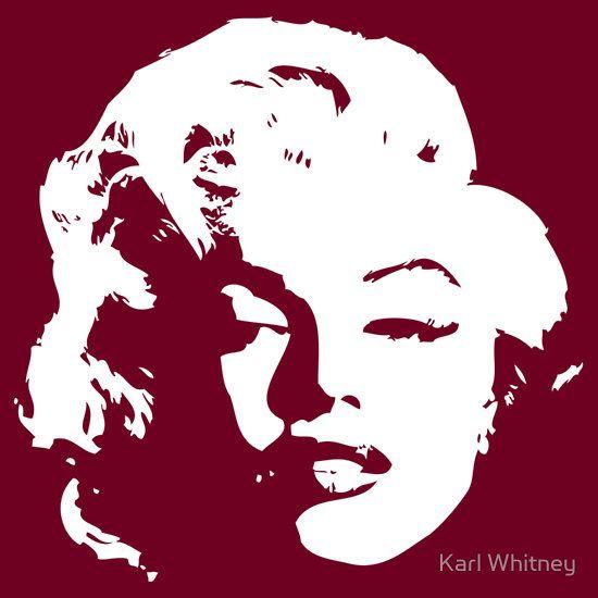 Marilyn Monroe by Karl Whitney