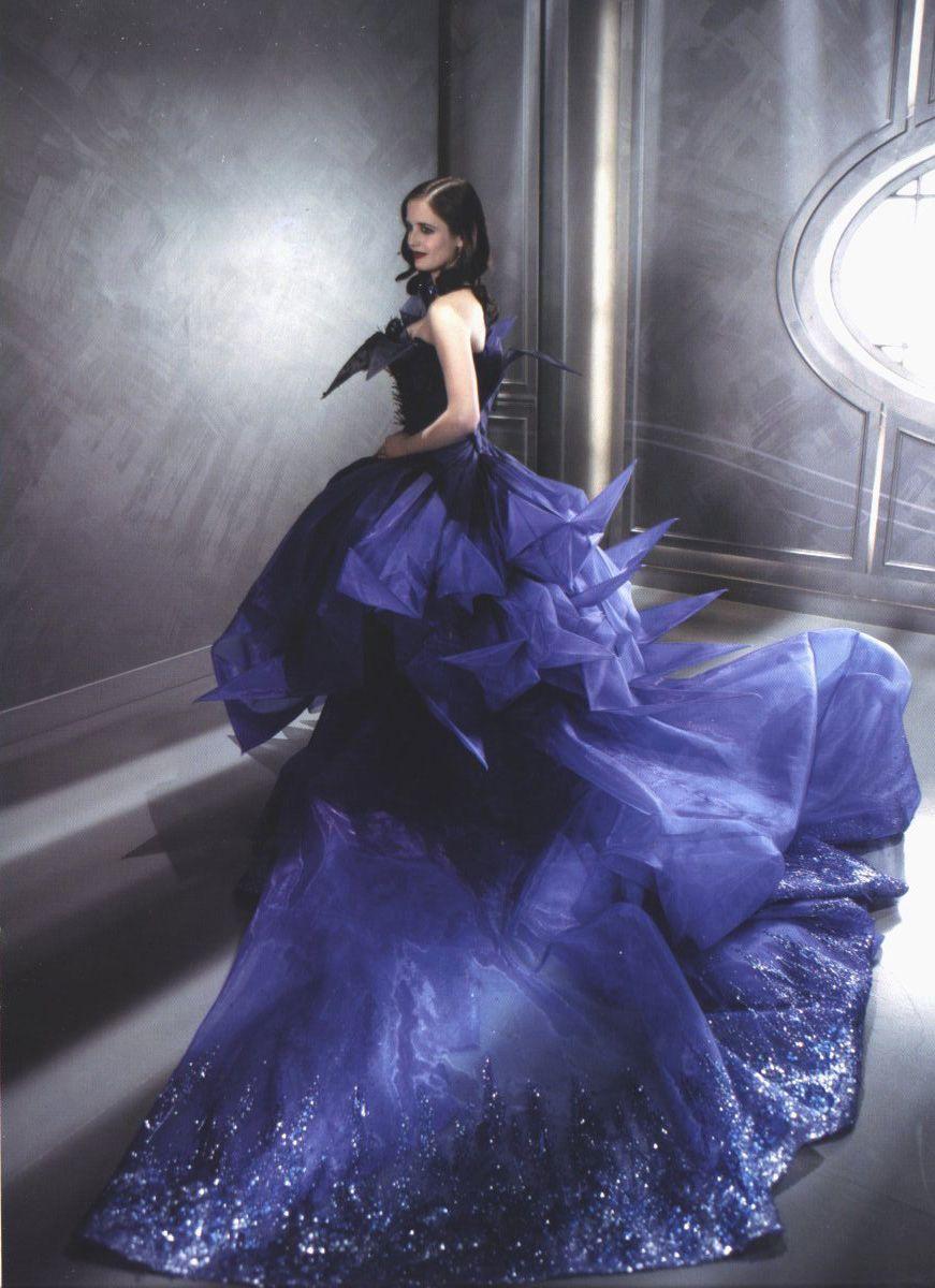 Christian Dior Haute Couture Eva Green In Midnight Poison Fantasy