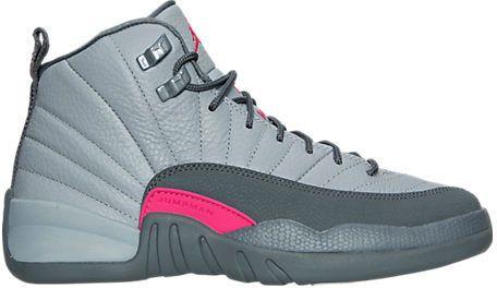 e289792dc059 Nike Girls  Grade School Air Jordan Retro 12 (3.5y-9.5y) Basketball Shoes