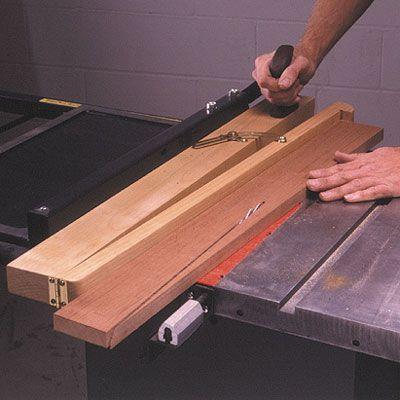 Tablesaw Taper Jig Woodworking Plan, Workshop & Jigs Jigs & Fixtures Workshop & Jigs $2 Shop Plans