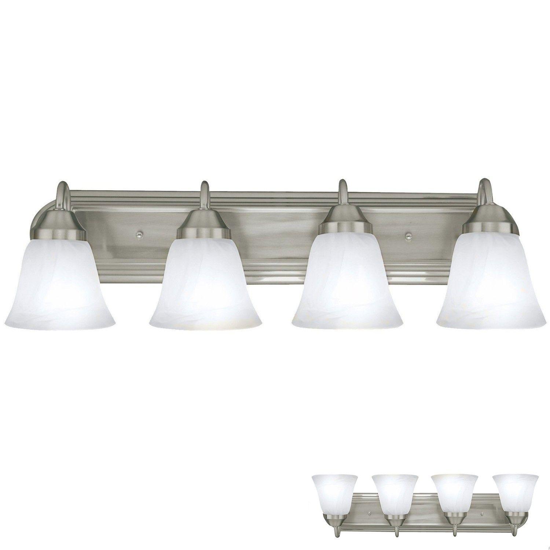 lighting fixtures for bathroom vanity. Bennington 620A04 Luna Four Globe Bathroom Vanity Light Bar Bath Fixture\u2026 Lighting Fixtures For Y