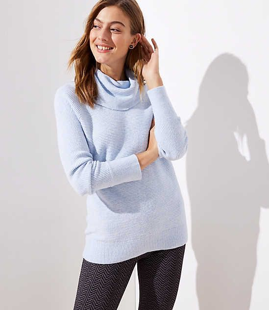 066d78d1cd5 Shop LOFT for stylish women's clothing. You'll love our irresistible Cowl  Neck Tunic Sweater - shop LOFT.com today!