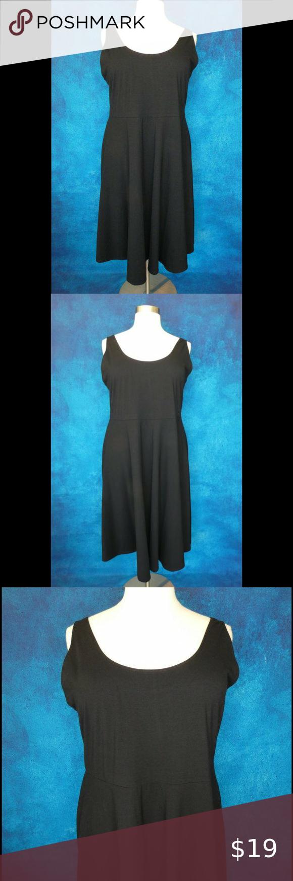 Nwt A New Day Black A Line Dress 2x A Line Dress Dresses 2x Clothes Design [ 1740 x 580 Pixel ]