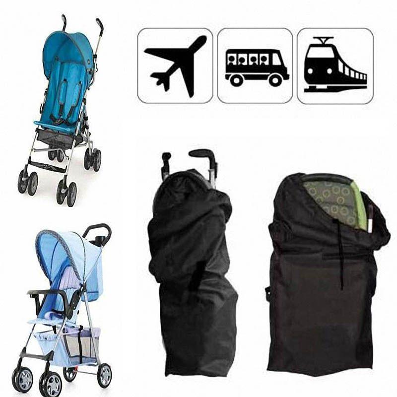 1x Standard Double Stroller Pram Travel Bag Buggy Cover Air Travel Bag NEW