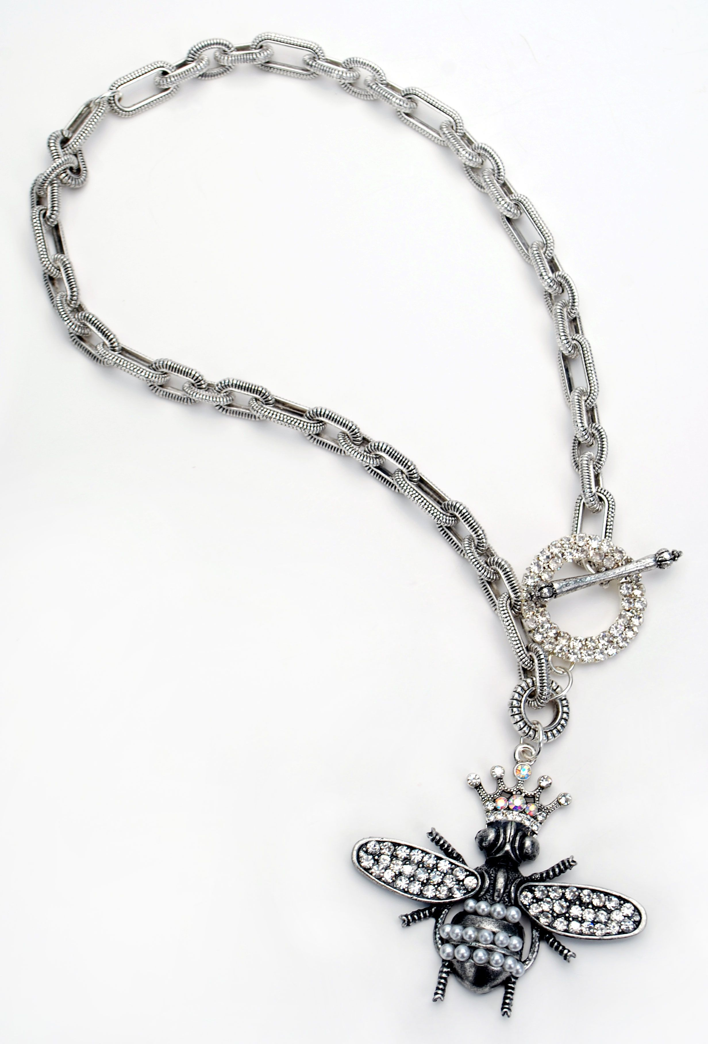 Blingin Bee Necklace, charms and components are part of the Art-i ...