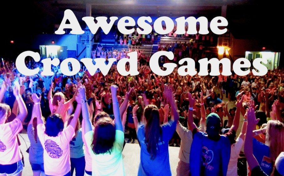 Awesome Crowd Game Ideas Kid Min Pinterest Group Games Large