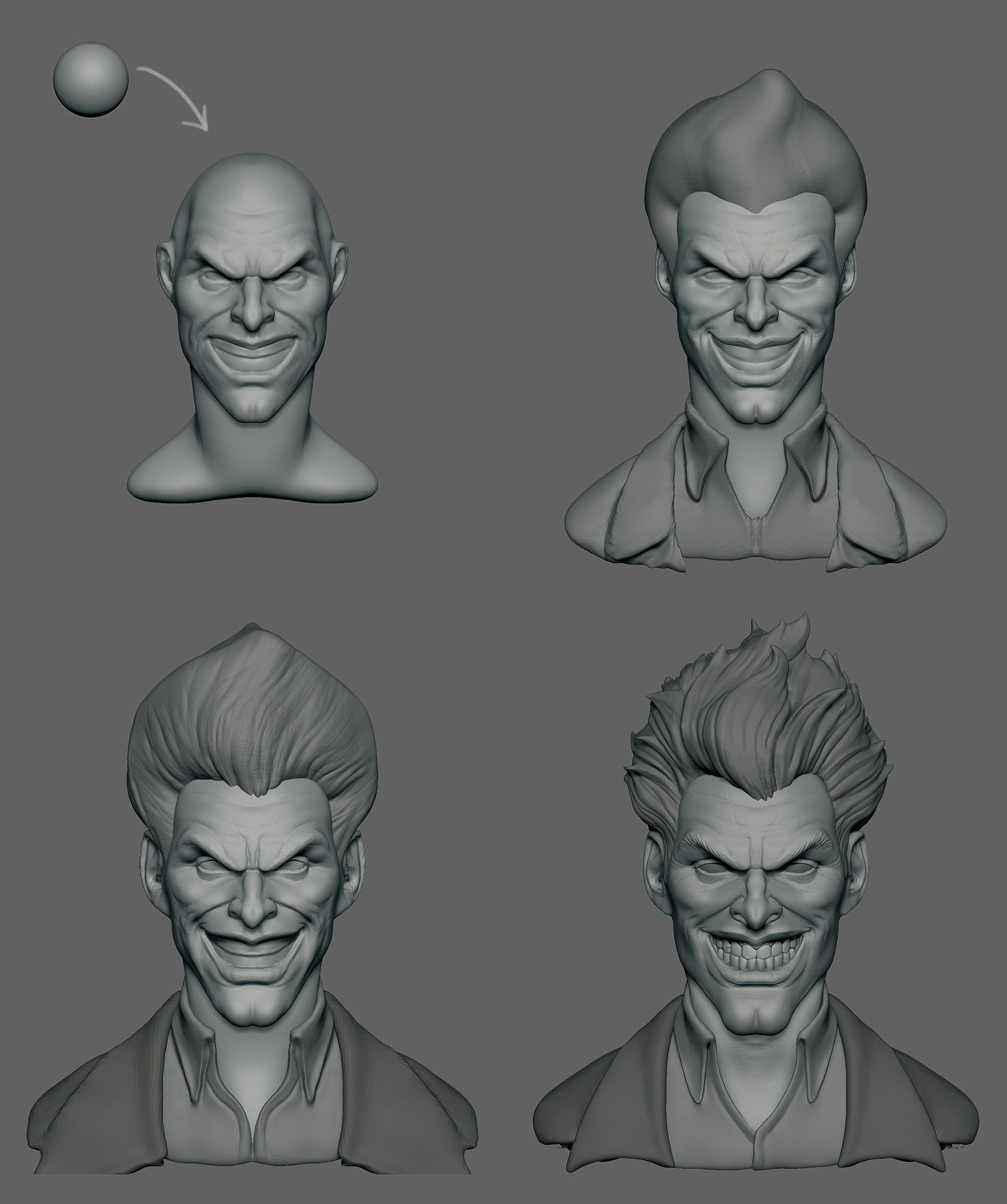 ArtStation - Evil Joker, Ali Farsangi