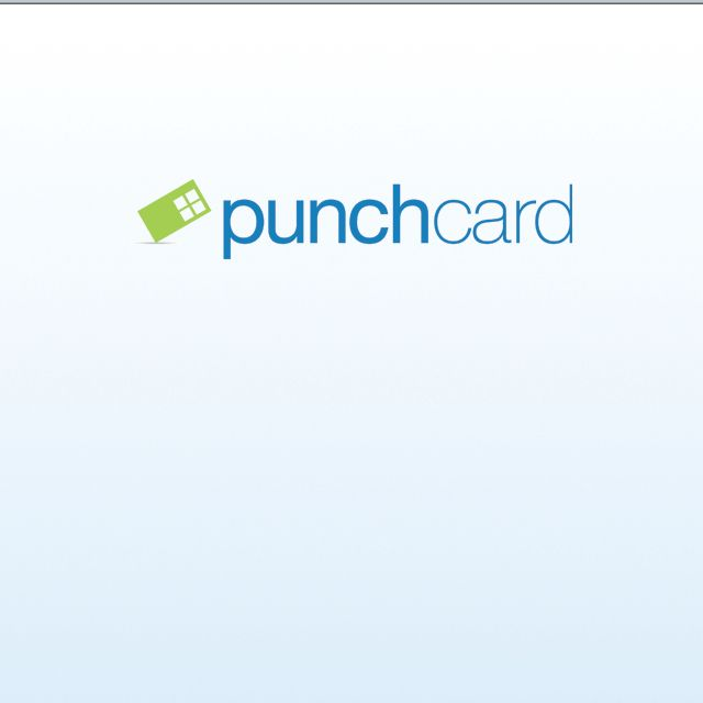 Reward Program On The Go Punchcard Is Fun To Use Forget About