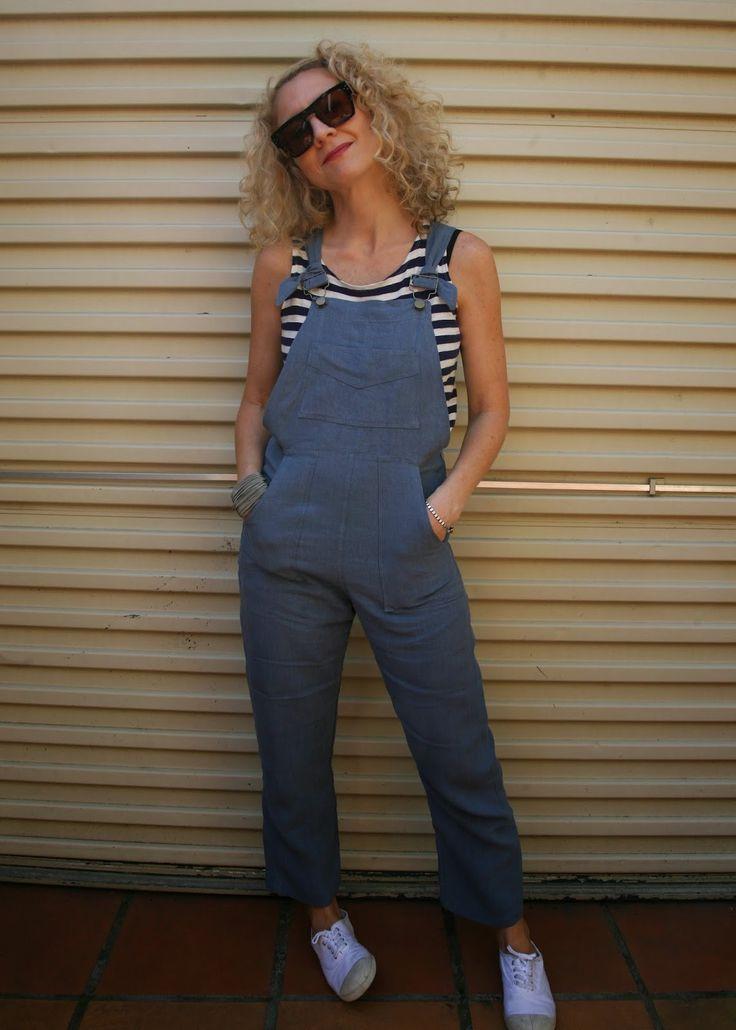 Sew Tessuti Blog - Sewing Tips & Tutorials - New Fabrics, Pattern Reviews: My Turia Dungarees by Pauline Alice