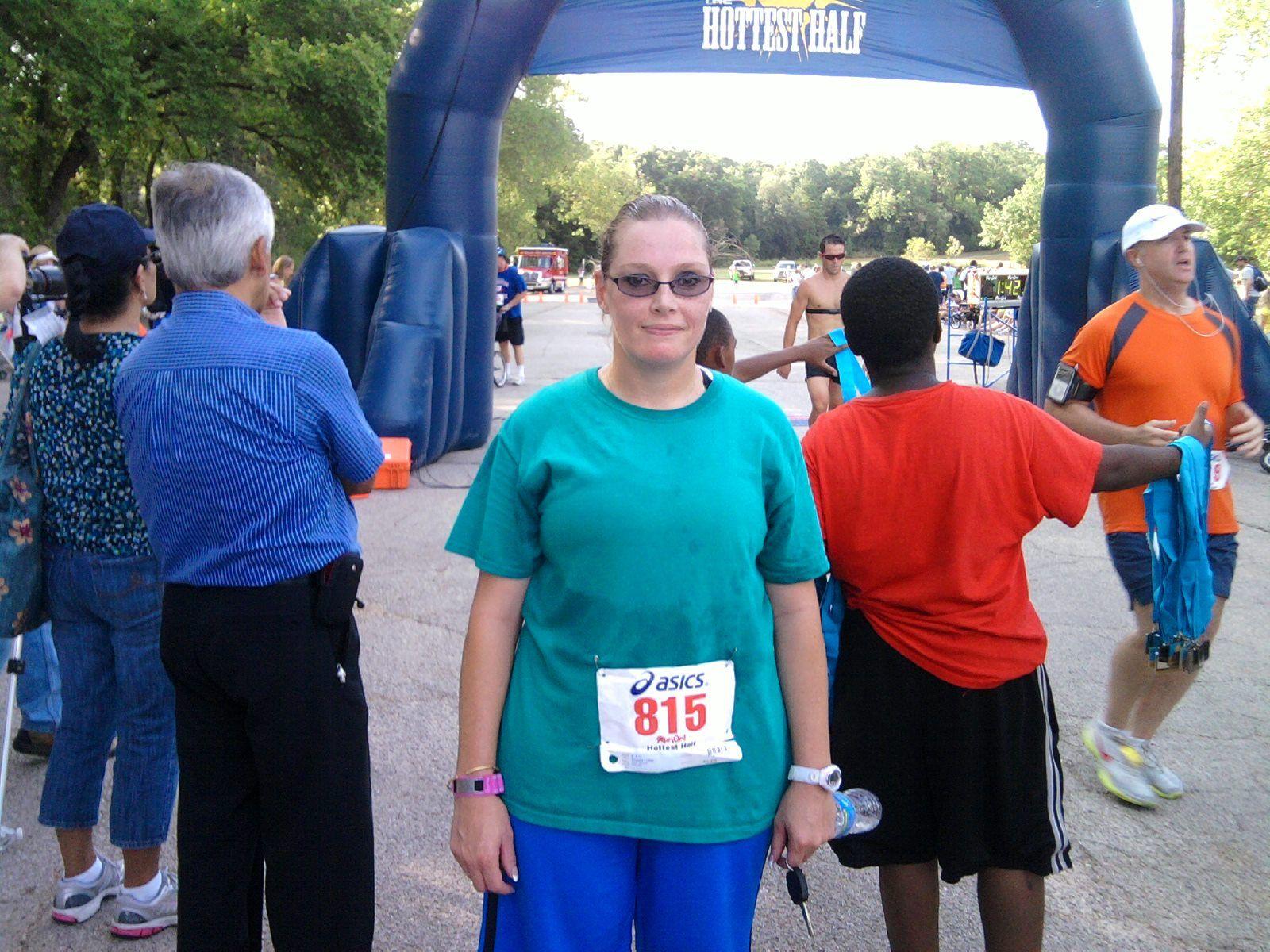 Texas hottest half 2010, ran the 10k
