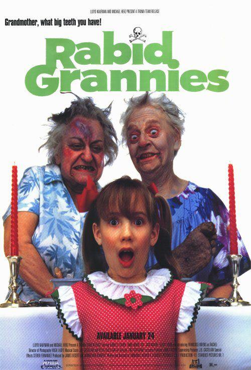 Rabid Grannies 1988 Horror Movies Horror Dvd Movies And Tv Shows