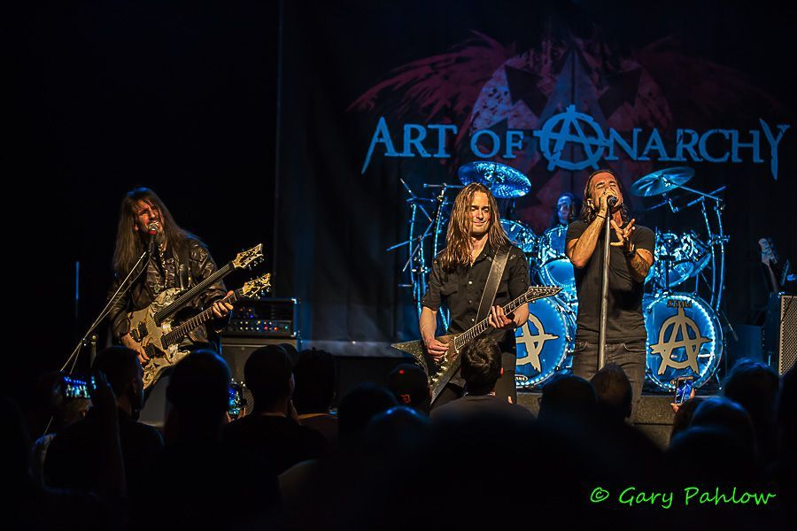 Art Of Anarchy At Diesel In New Baltimore Mi National Rock Review Anarchy Latest Albums Metal Songs