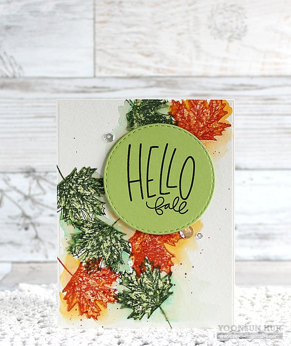 Beautiful Hello Crafty Friends, Happy STAMPtember! Today I Have Two Autumn Themed  Cards To