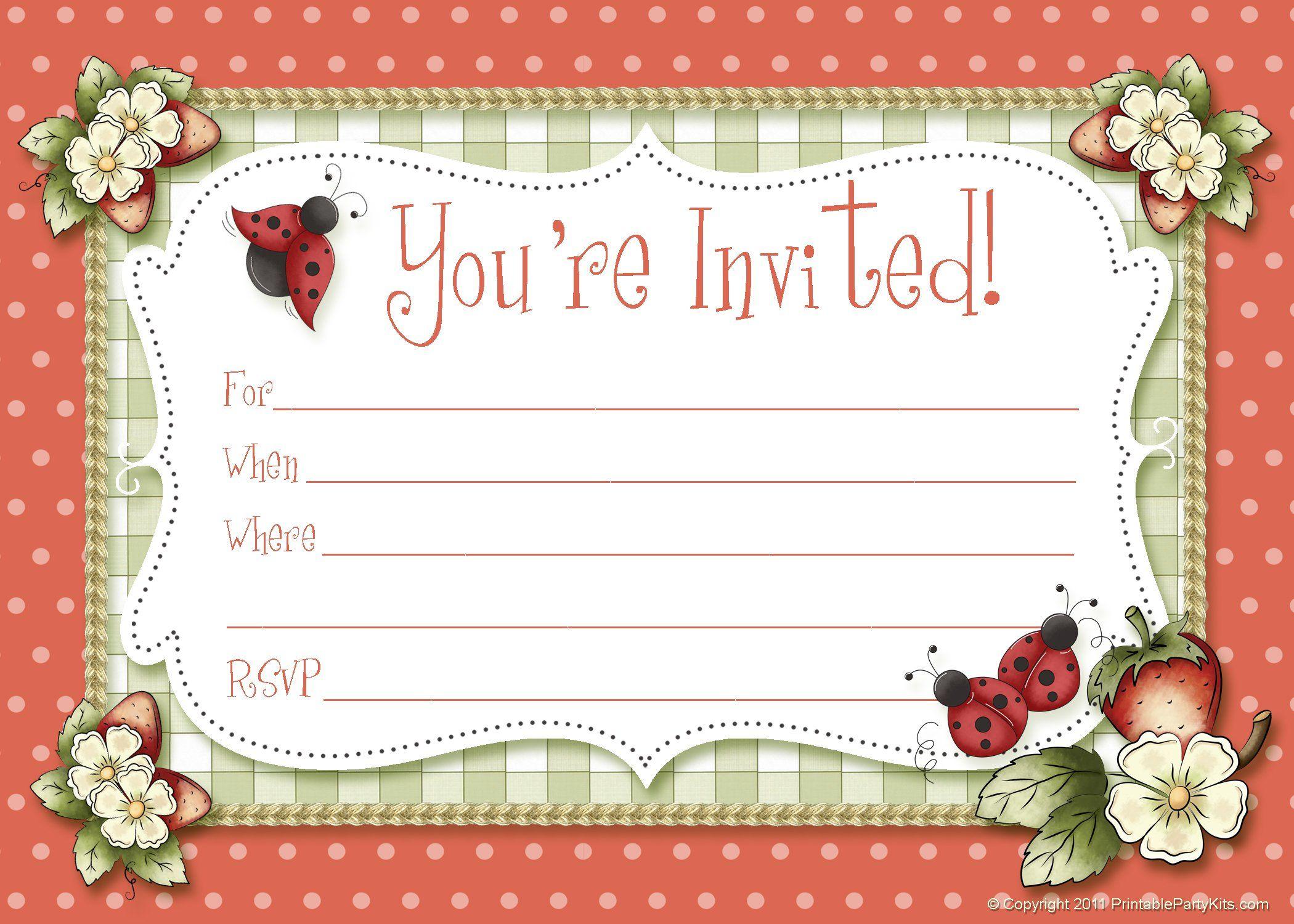 birthday invitation maker with photo - Create Birthday Party Invitations