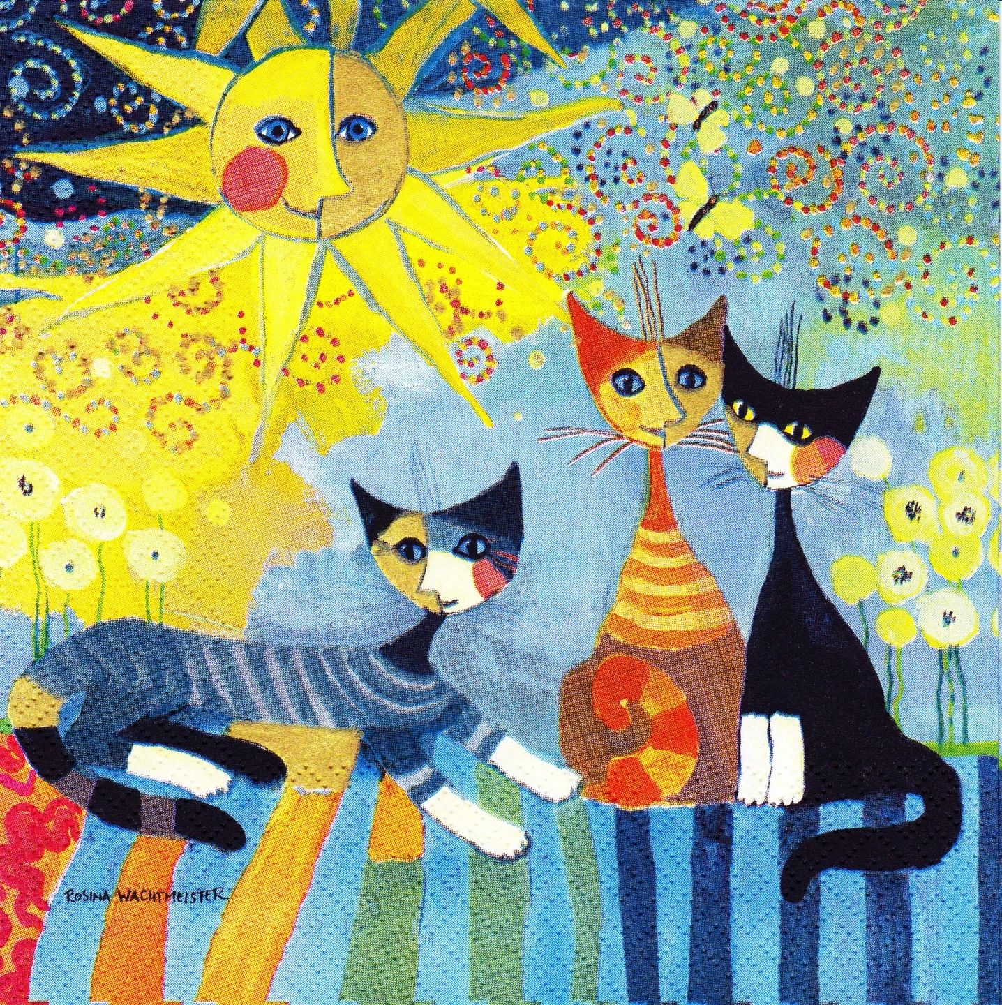 rosina wachtmeister pottery cats pinterest. Black Bedroom Furniture Sets. Home Design Ideas