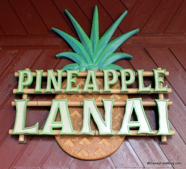 Pineapple Lanai Opens at Disney's Polynesian Village Resort (Dole Whip!!) Check out all of the photos! #WDW #DisneyFood