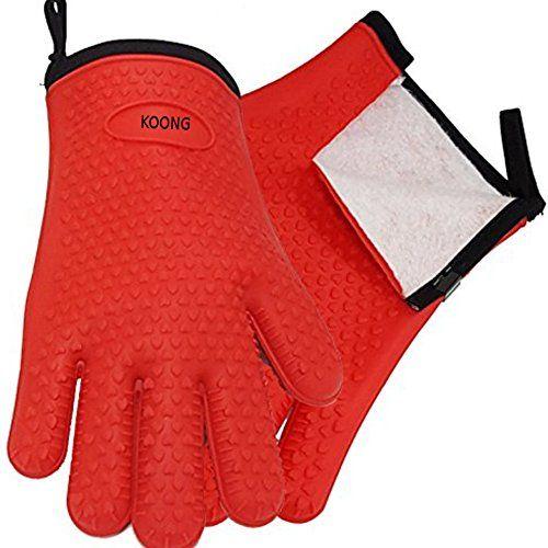 1 Pc Glove Bbq Silicone Oven Heat Resistant Cotton Gloves Https Www Amazon Com Dp B01m0qn0zr Ref Cm Sw R Pi Dp Silicone Bbq Gloves Bbq Gloves Comfort Fit