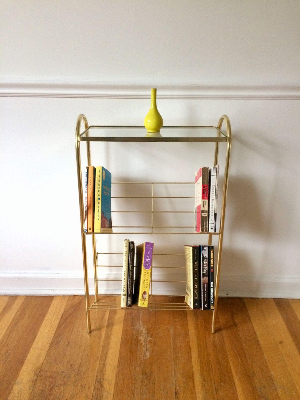 Retro Metal Table Shelf