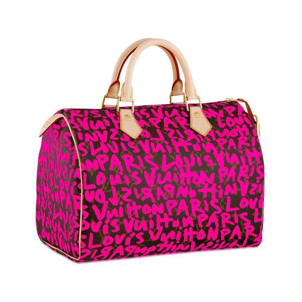 b8795a443d Louis Vuitton Limited Edition Monogram Stephen Sprouse Graffiti Speedy 30  Sac À Main, Mains,