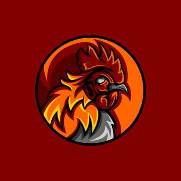 Rooster Mascot, Brand Mark, Branding, Design PNG and Vector with Transparent Background for Free Download