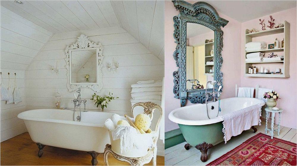 Shabby Chic Bathroom Decorating Ideas