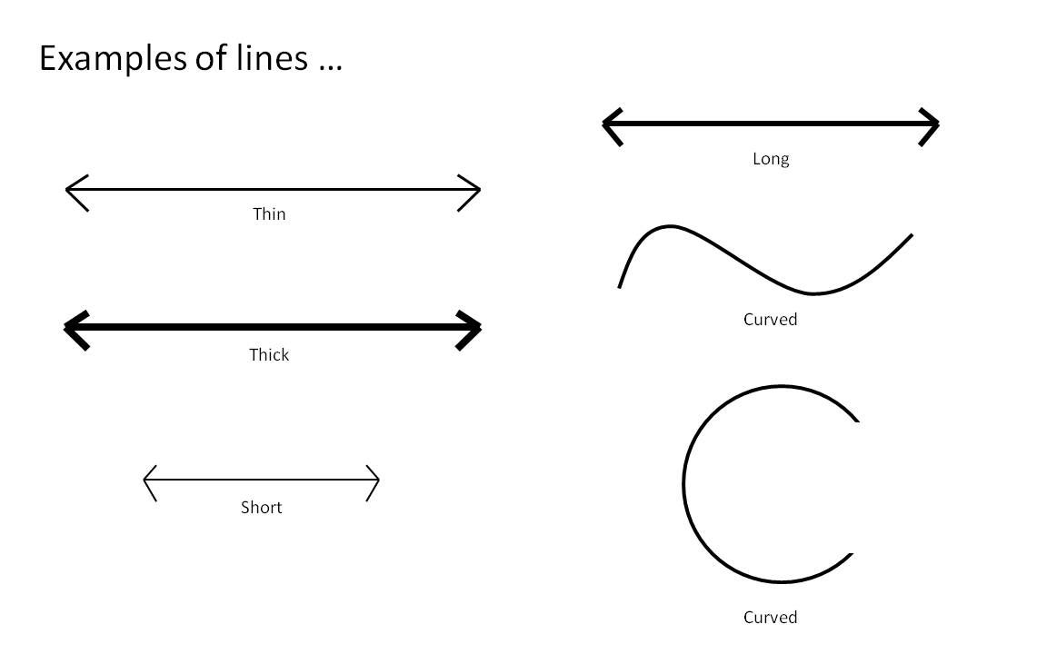 Examples Of Line In Art : Line a mark or stroke long in proportion to its breadth