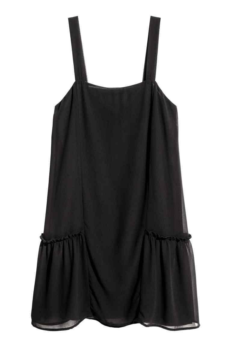 Korte jurk - Zwart - DAMES | H&M NL