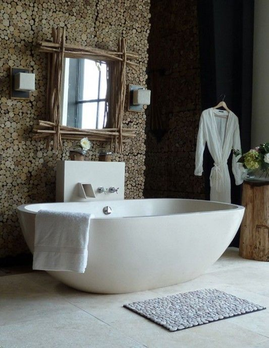 Merveilleux White Pebble Tile. Decorating BathroomsBathrooms DecorBathroom ...
