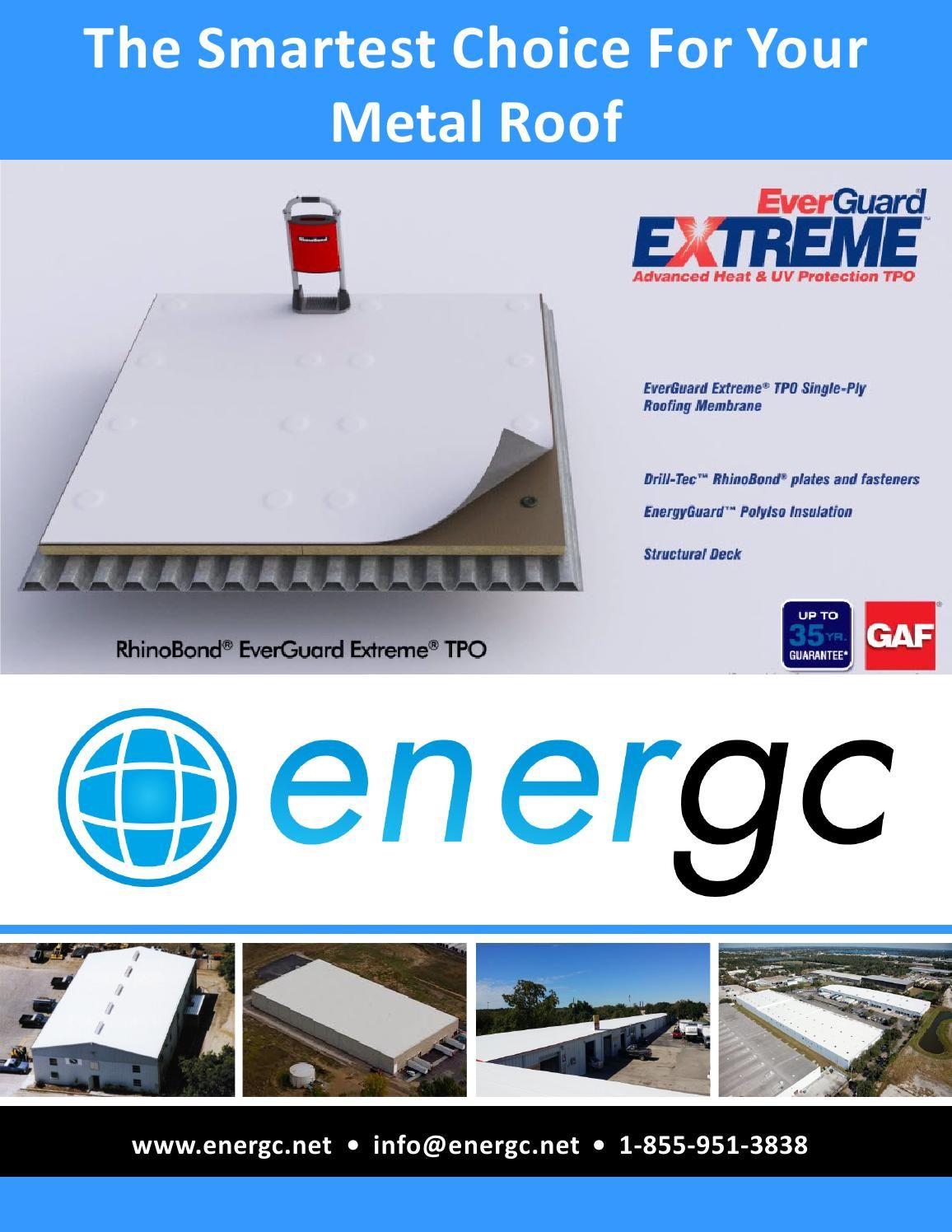 Energc Metal Roof Retrofit Metal Roof Save Energy Metal