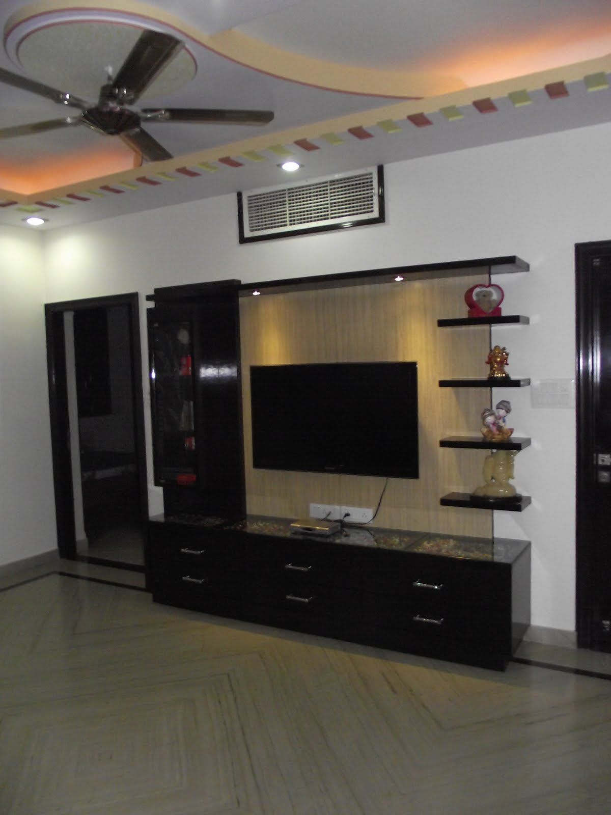 Latest Tv Unit Design: Popular Interior Design For TV Showcase