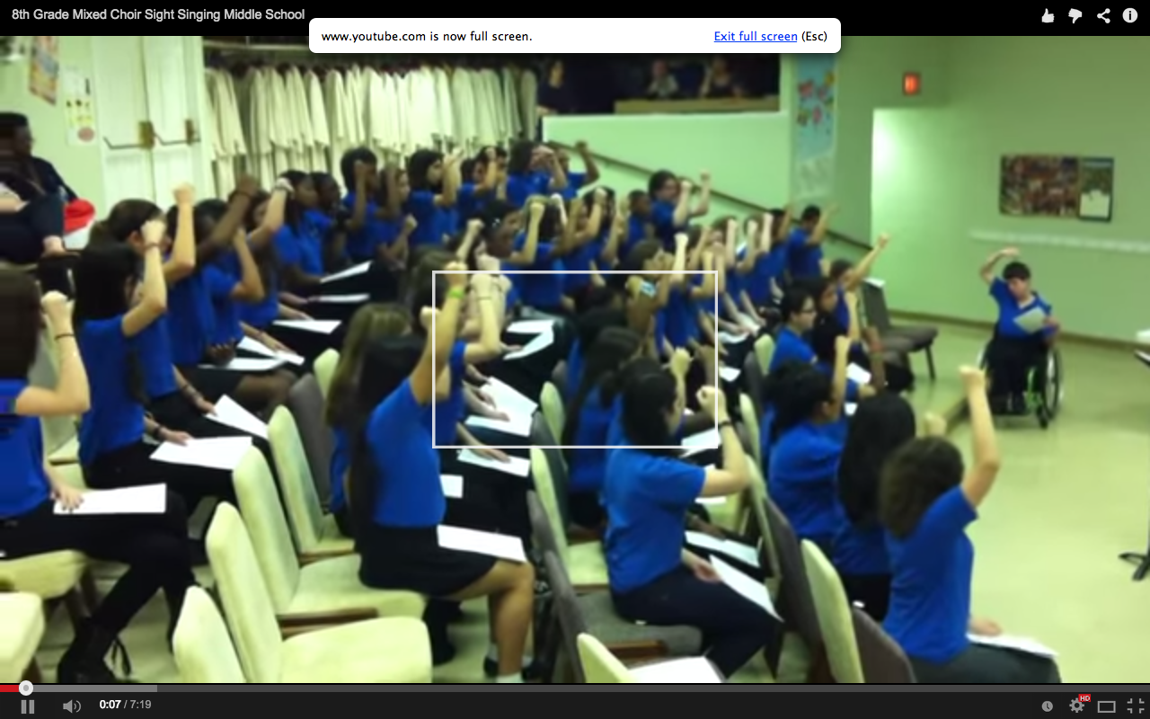 The Impact of Kodaly Hand Sign Use in a Multi-Lingual Middle School Classroom | In the Middle With Mr D