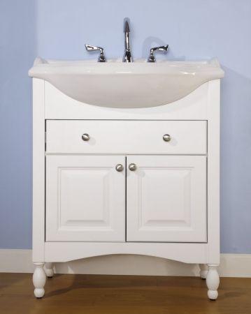 30 Inch Narrow Depth Console Bath Vanity Custom Options Narrow Bathroom Vanities Small Bathroom Vanities Custom Bathroom Vanity
