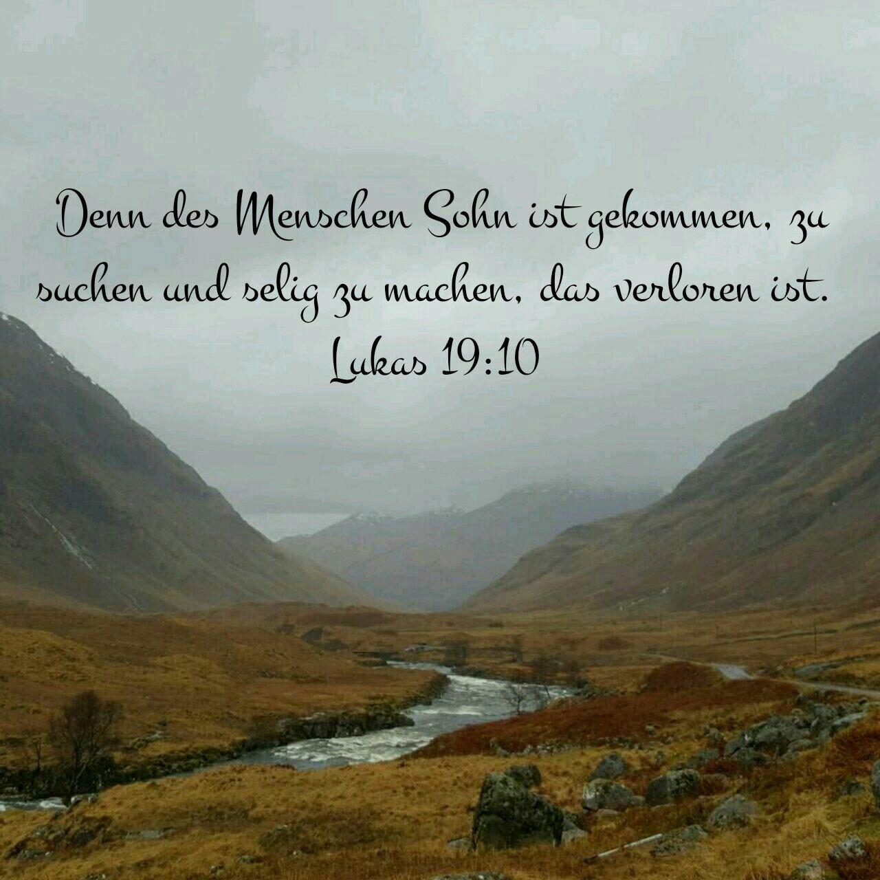 Lukas 19 10